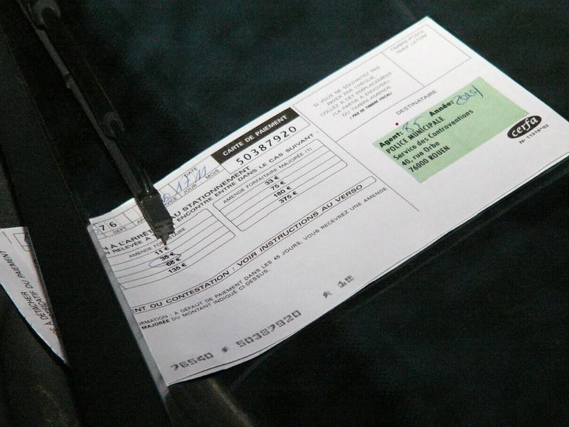 Code de la route : infractions et amendes